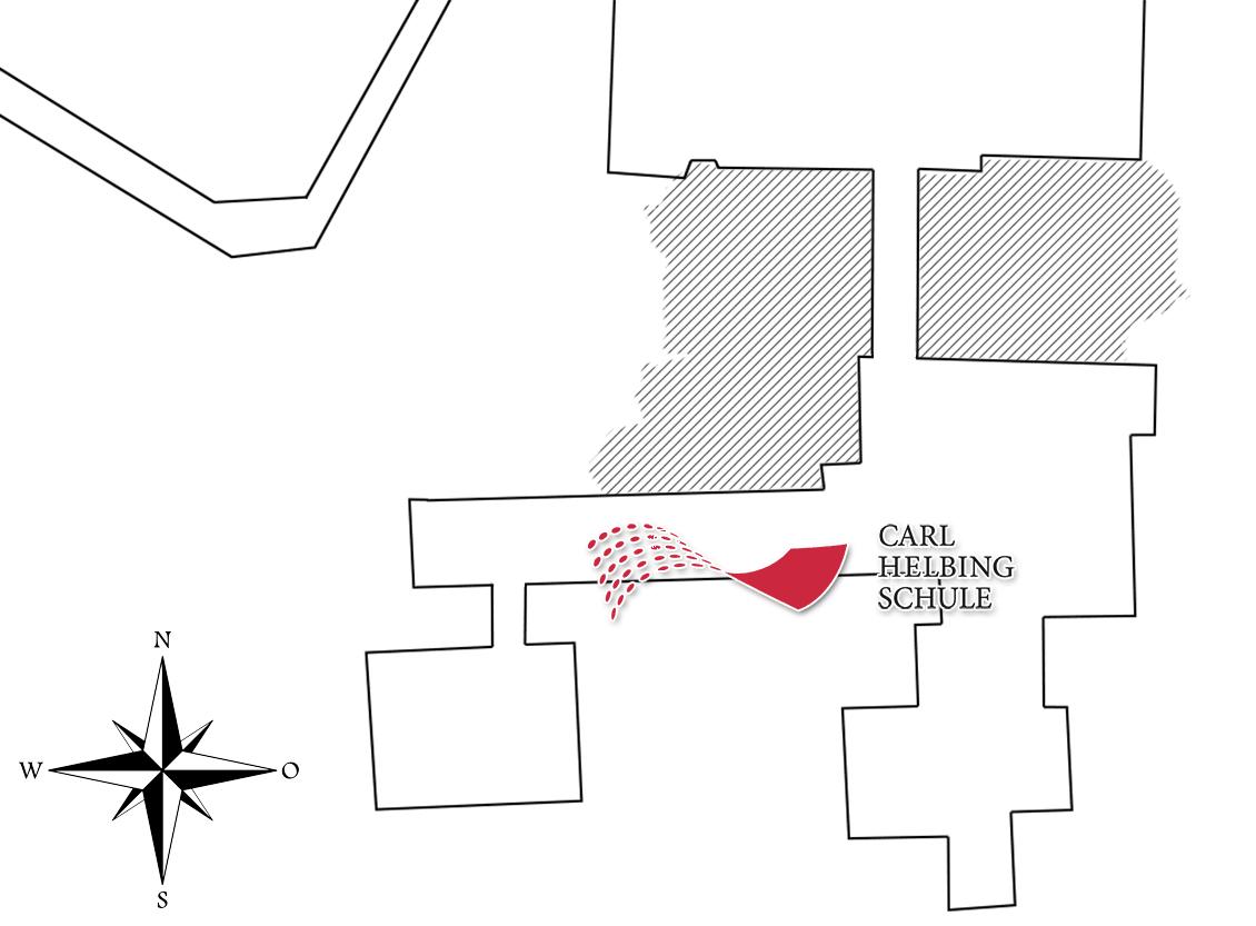 Karte: Campus der Carl-Helbing-Schule